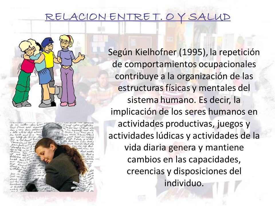 RELACION ENTRE T. O Y SALUD