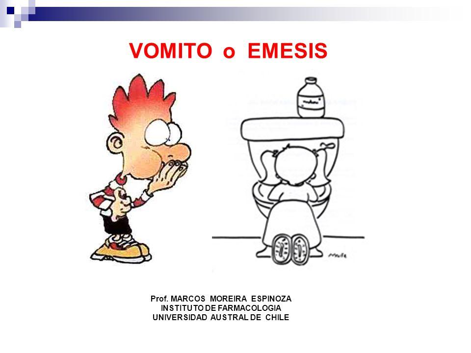 VOMITO o EMESIS Prof. MARCOS MOREIRA ESPINOZA