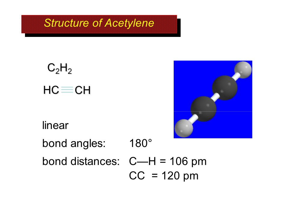 Structure of Acetylene