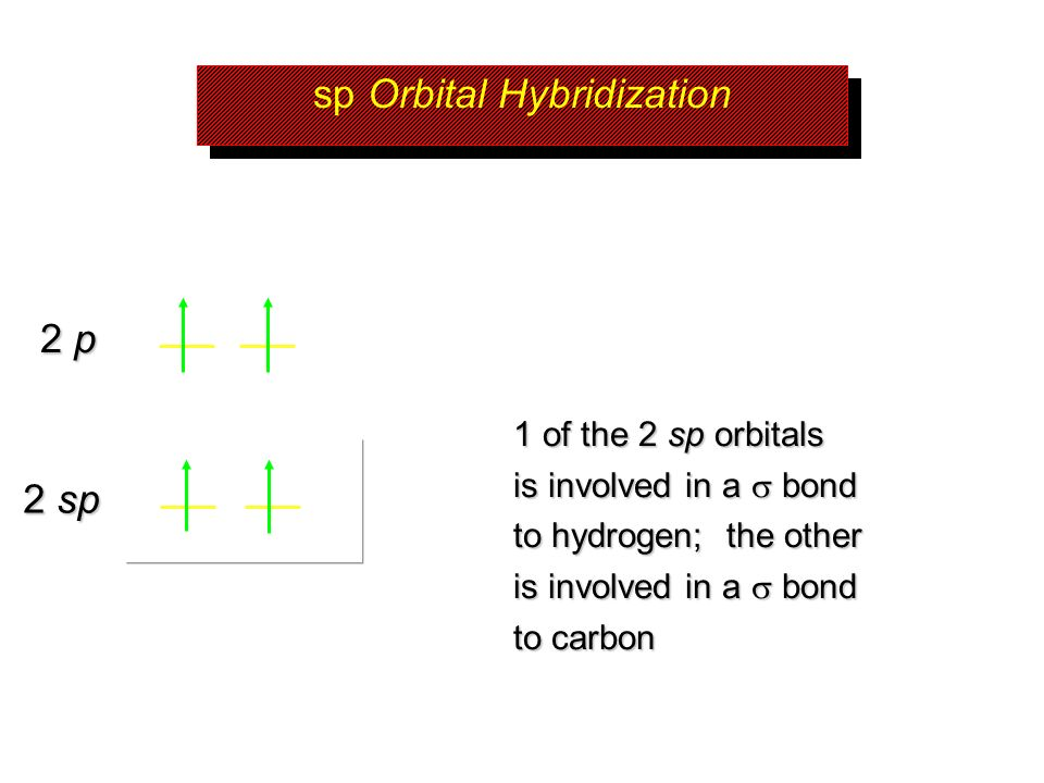 sp Orbital Hybridization