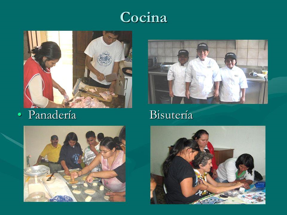 Cocina Panadería Bisutería