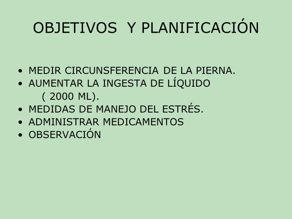 OBJETIVOS Y PLANIFICACIÓN