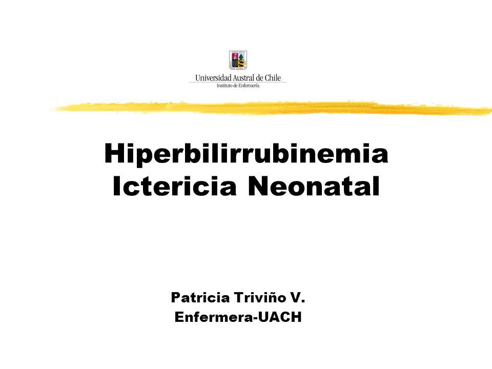 Hiperbilirrubinemia Ictericia Neonatal