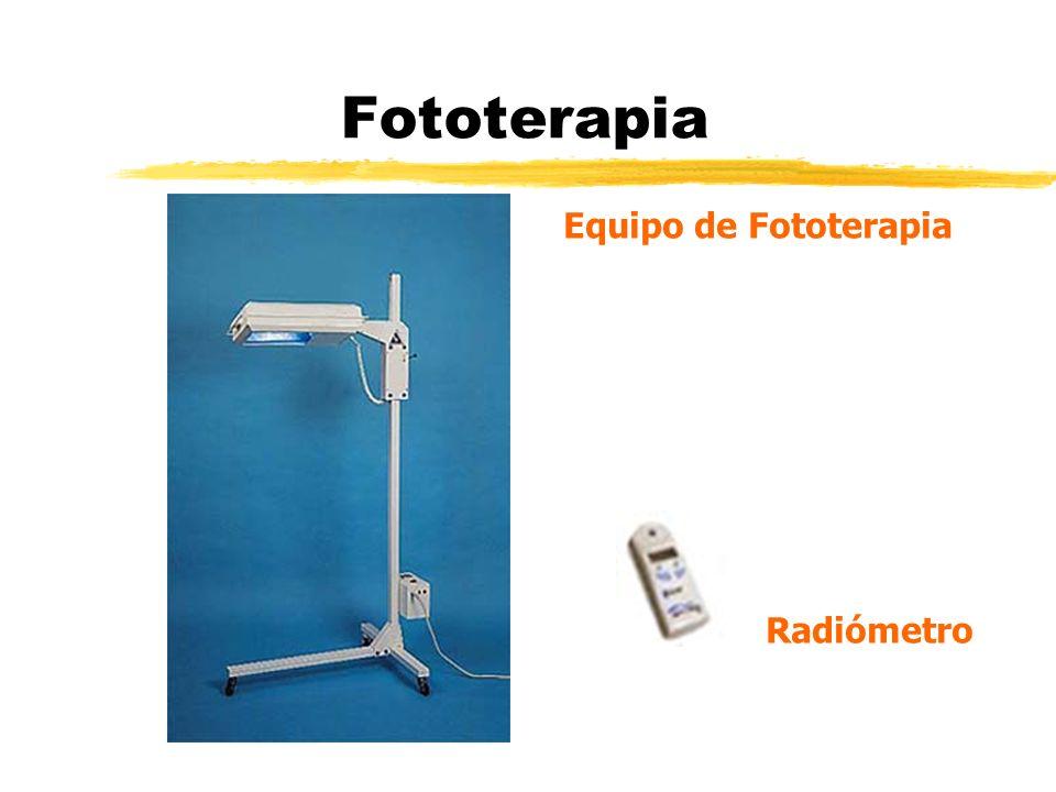 Fototerapia Equipo de Fototerapia Radiómetro