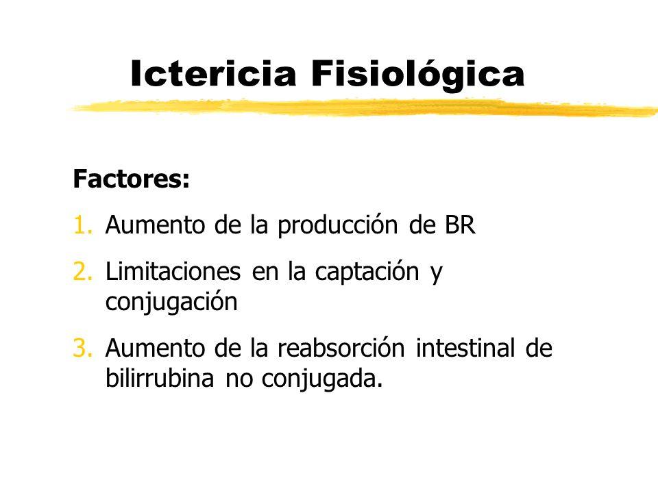 Ictericia Fisiológica