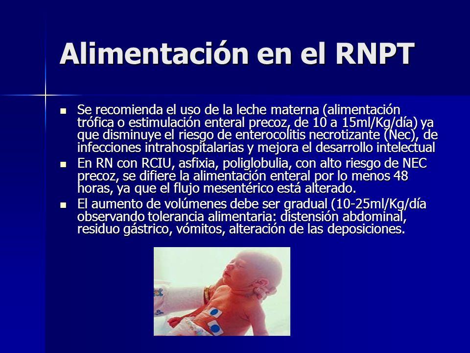 Alimentación en el RNPT