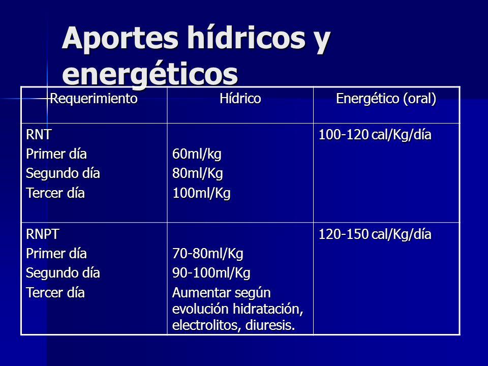 Aportes hídricos y energéticos