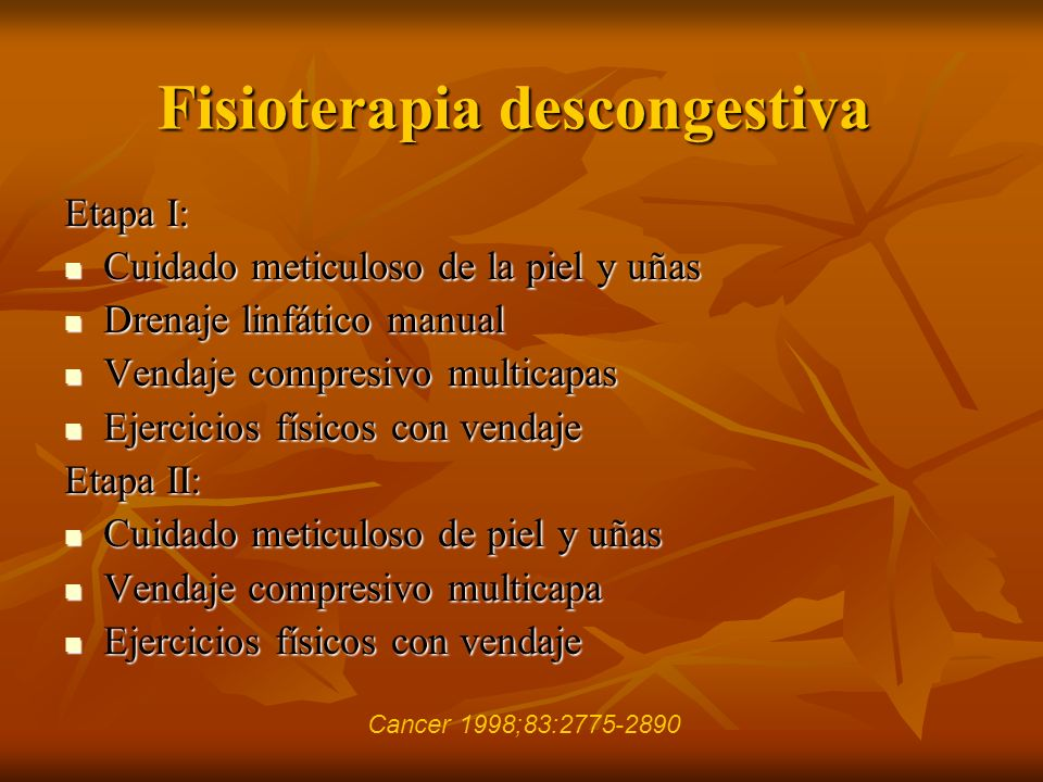 Fisioterapia descongestiva