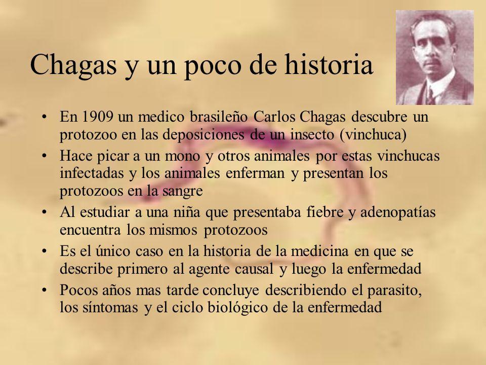 Chagas y un poco de historia