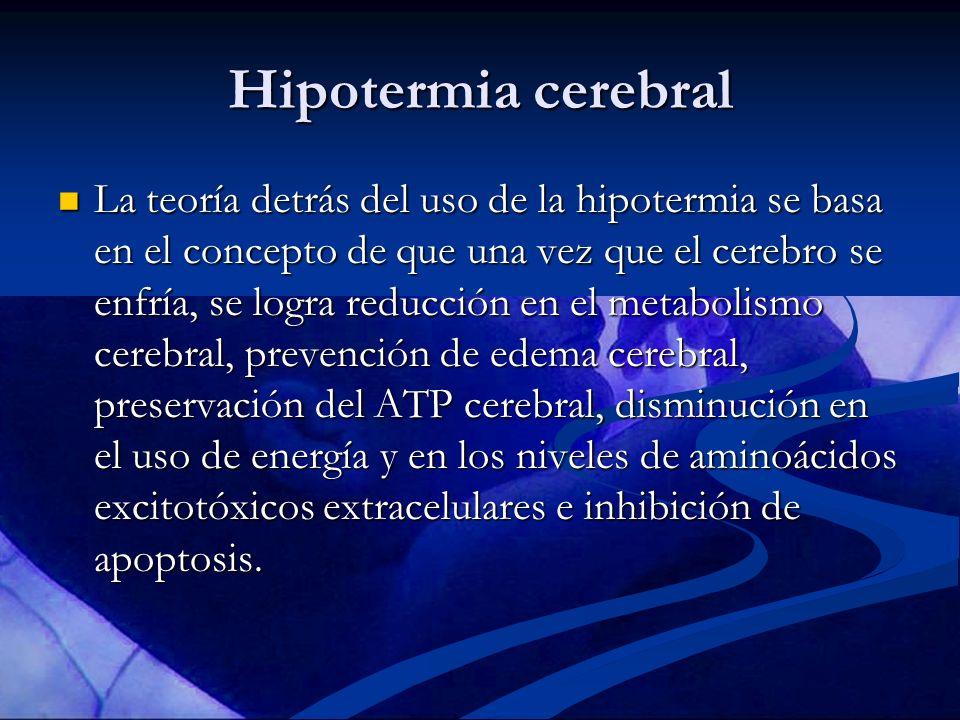 Hipotermia cerebral