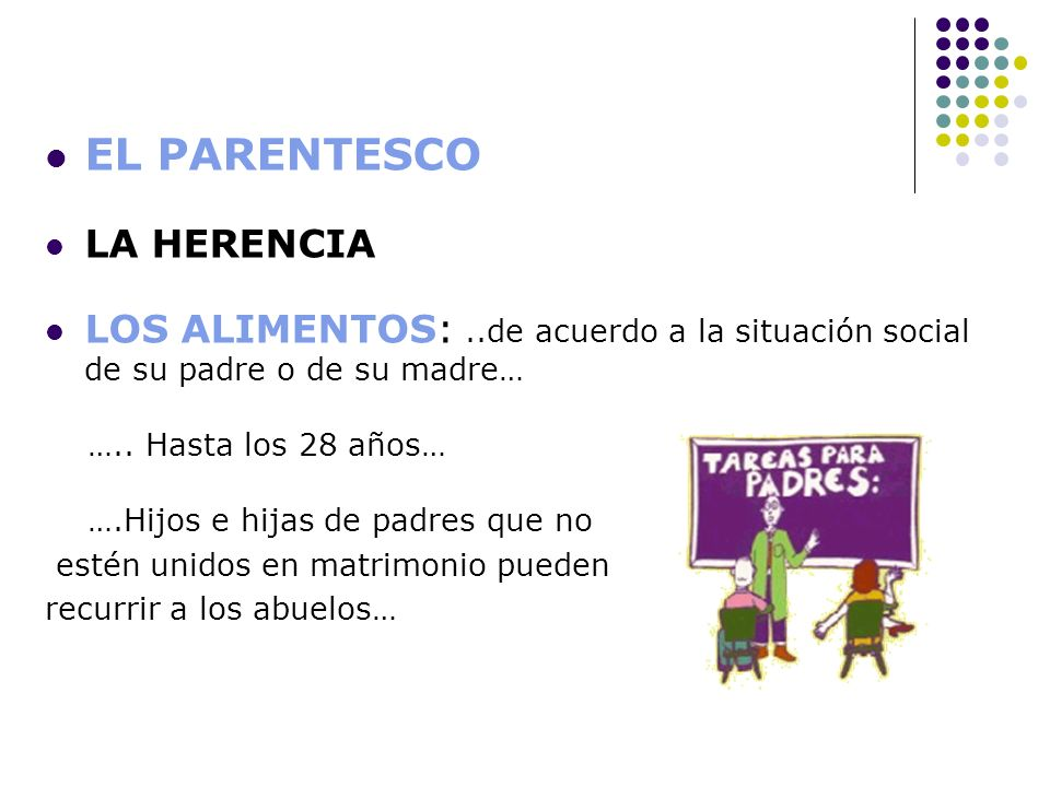 EL PARENTESCO LA HERENCIA