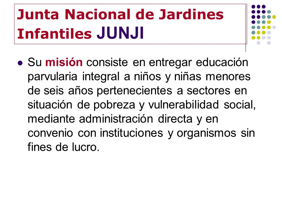 Junta Nacional de Jardines Infantiles JUNJI