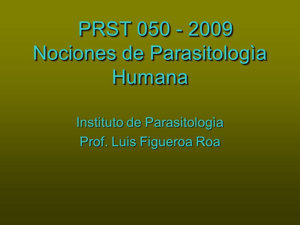 PRST 050 - 2009 Nociones de Parasitologìa Humana