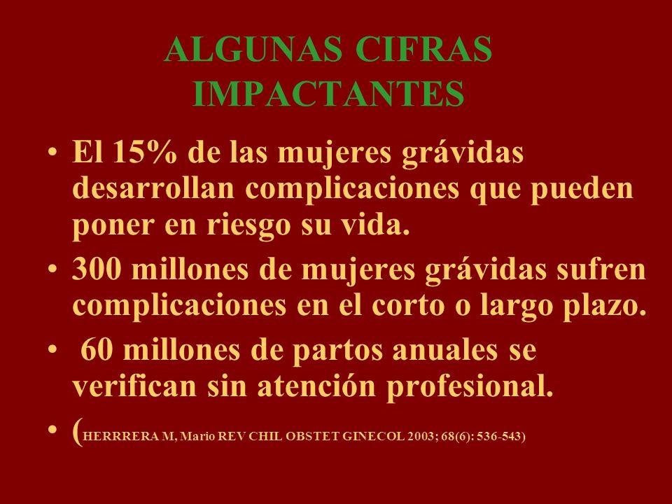 ALGUNAS CIFRAS IMPACTANTES