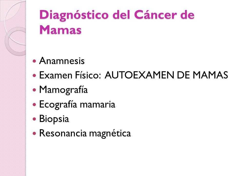 Diagnóstico del Cáncer de Mamas