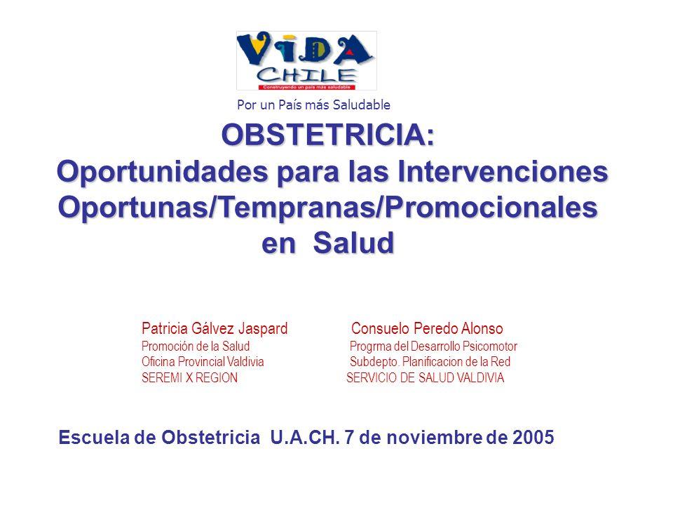 Escuela de Obstetricia U.A.CH. 7 de noviembre de 2005