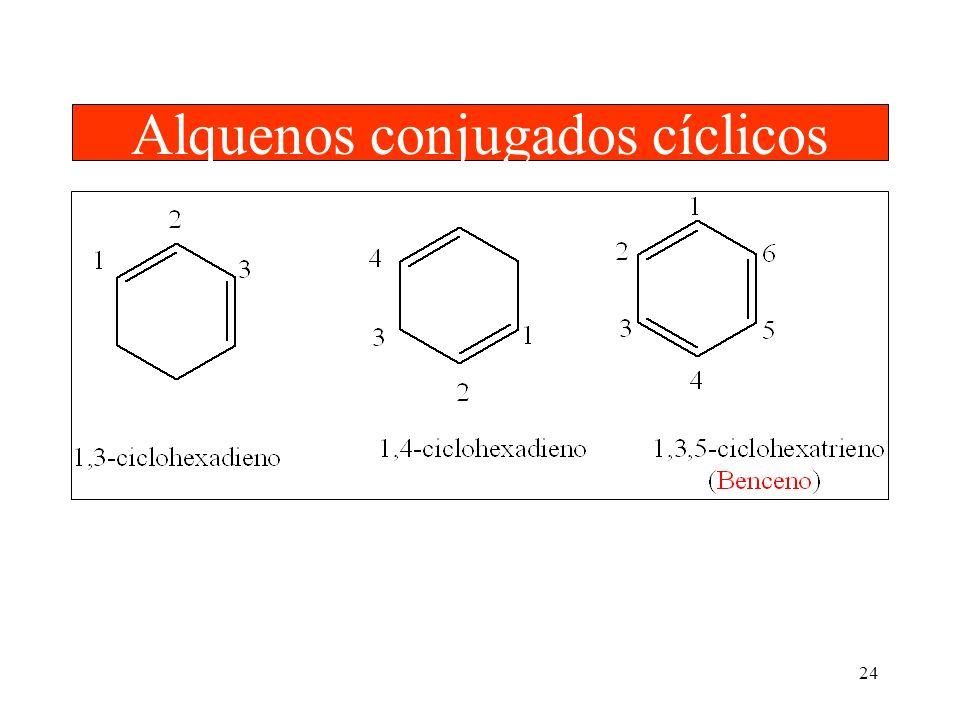 Alquenos conjugados cíclicos