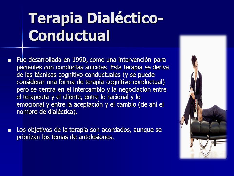 Terapia Dialéctico-Conductual
