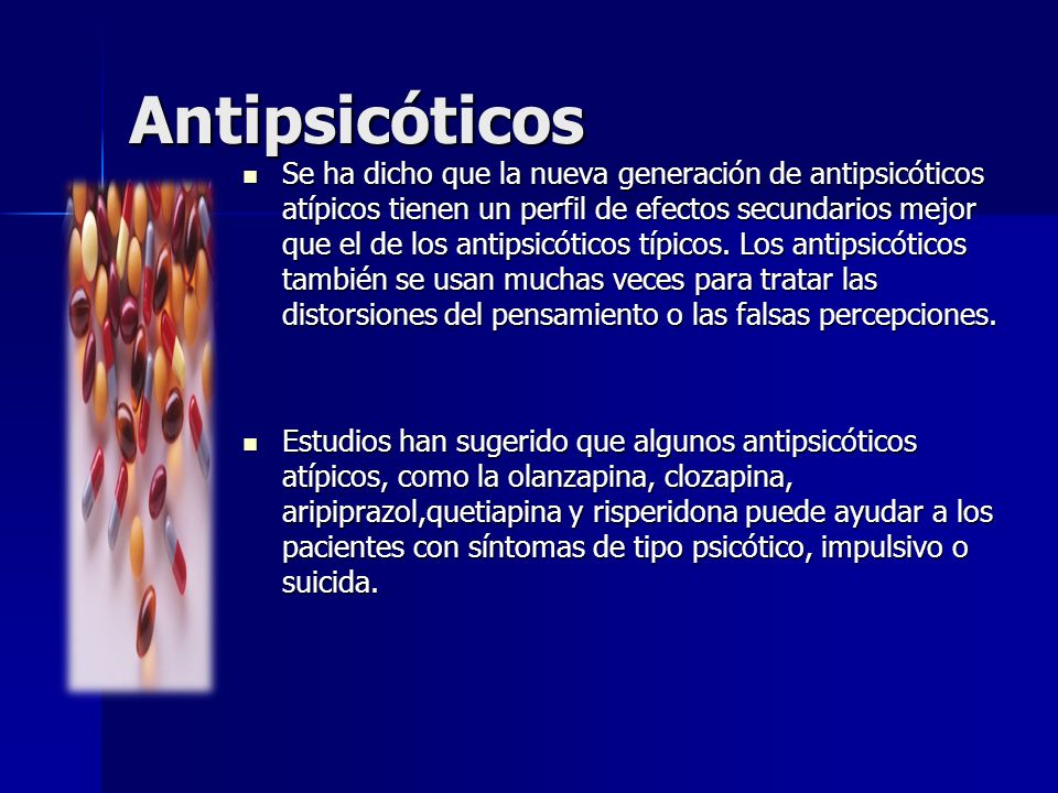 Antipsicóticos
