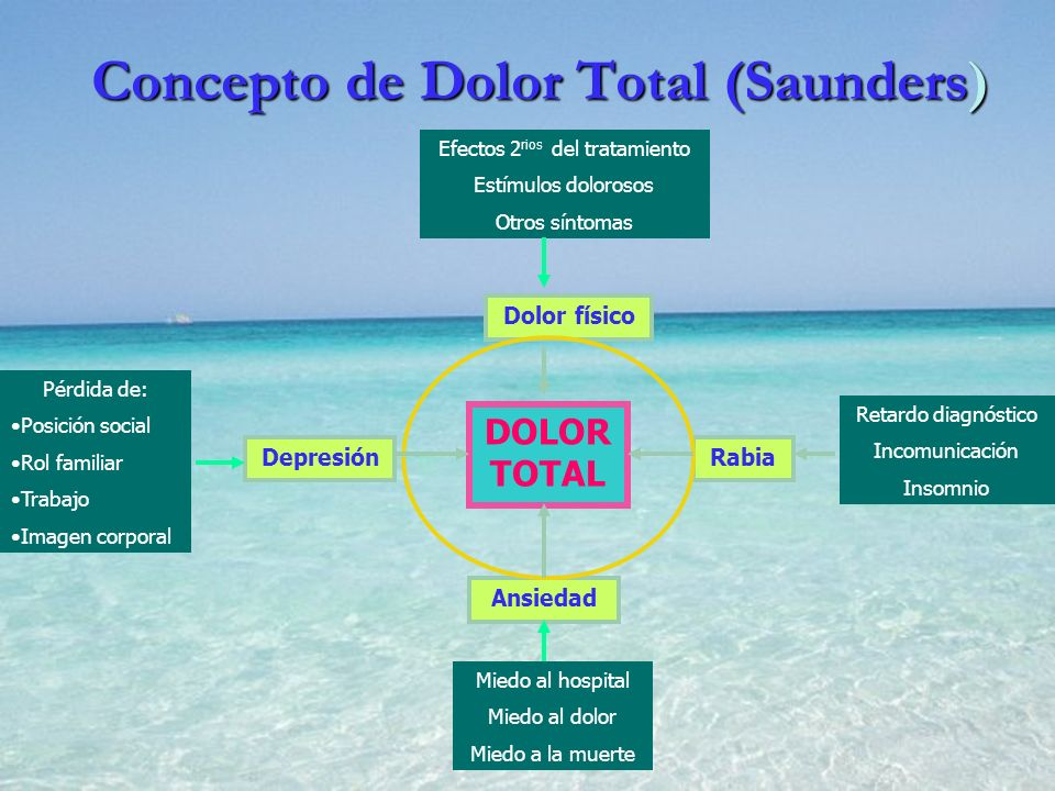 Concepto de Dolor Total (Saunders)