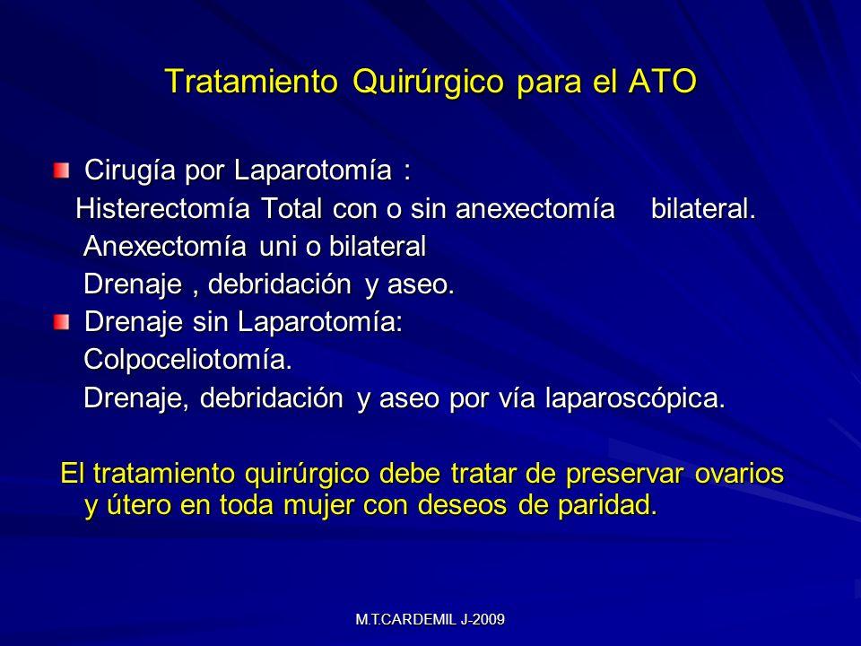 Tratamiento Quirúrgico para el ATO