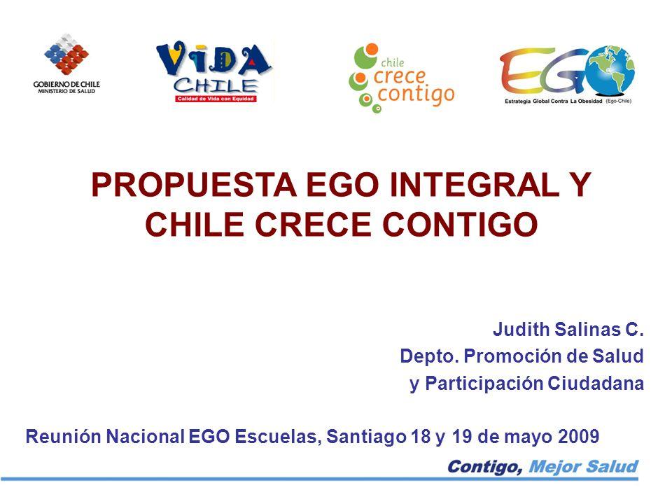 PROPUESTA EGO INTEGRAL Y CHILE CRECE CONTIGO