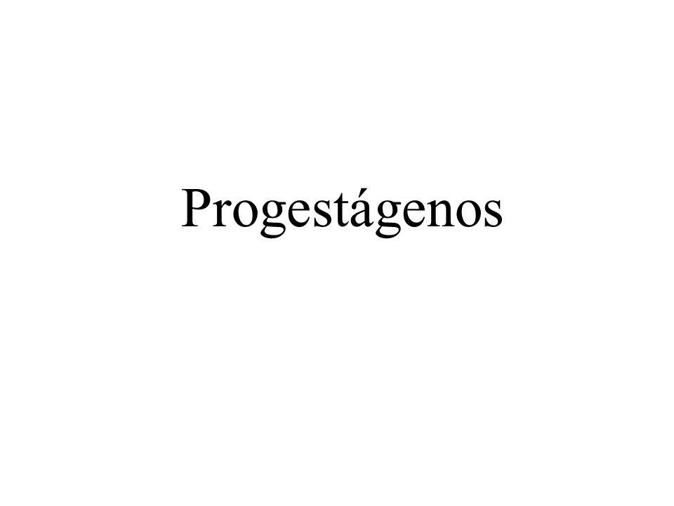 Progestágenos