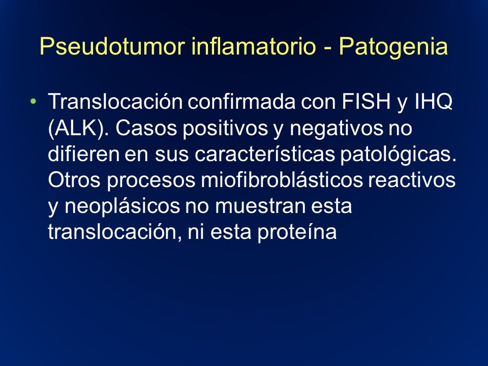 Pseudotumor inflamatorio - Patogenia