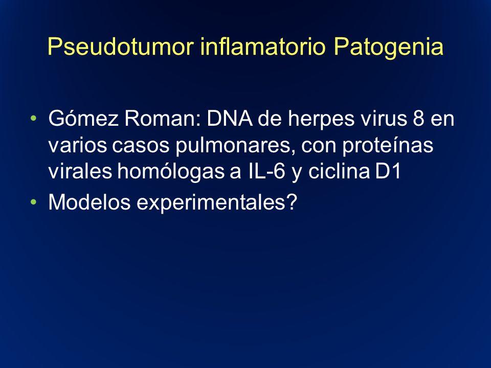 Pseudotumor inflamatorio Patogenia