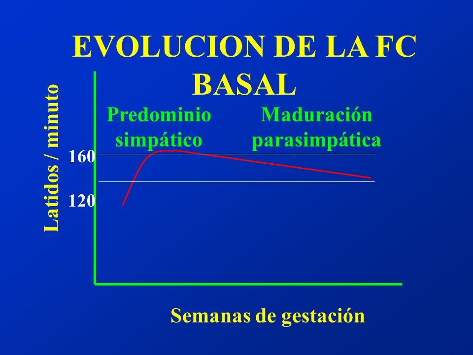 EVOLUCION DE LA FC BASAL