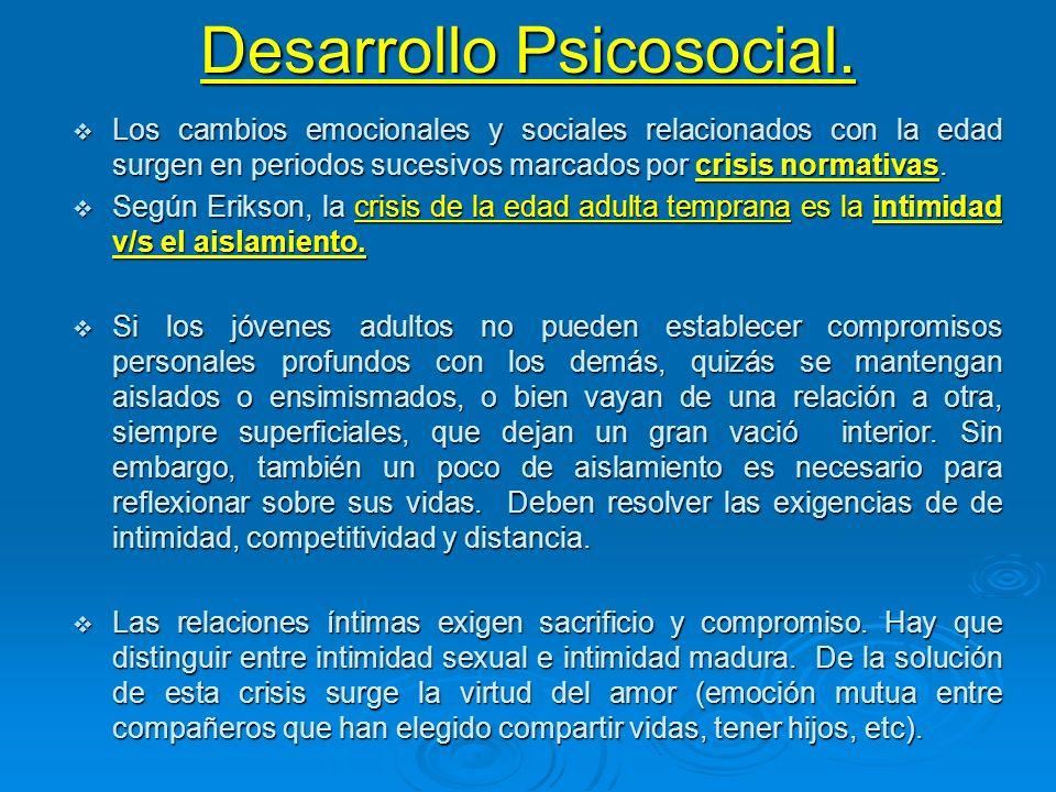 Desarrollo Psicosocial.