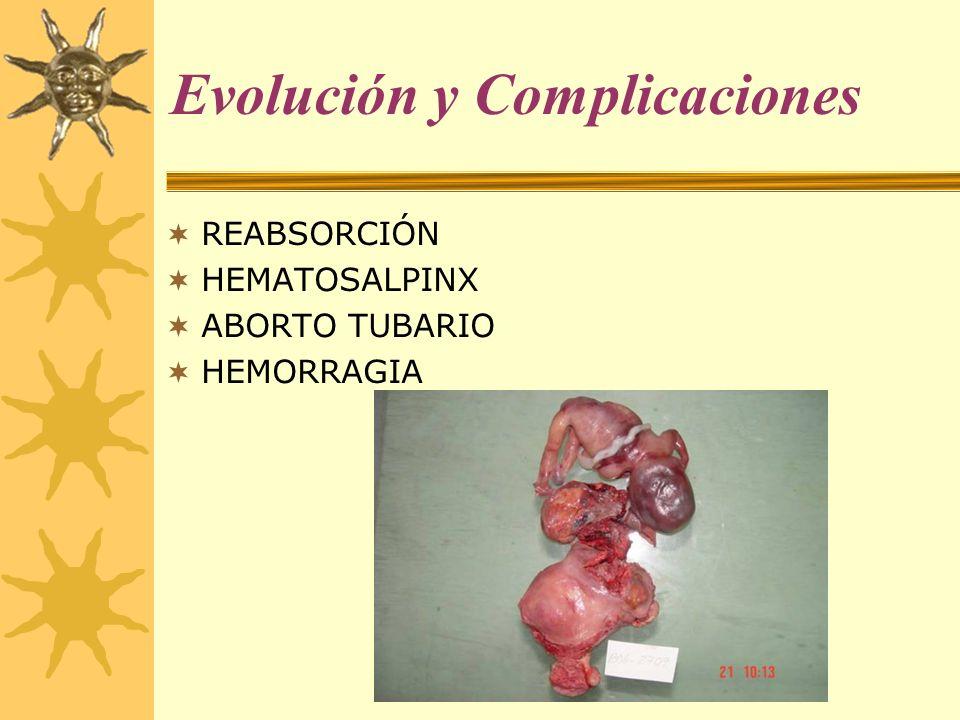 Evolución y Complicaciones
