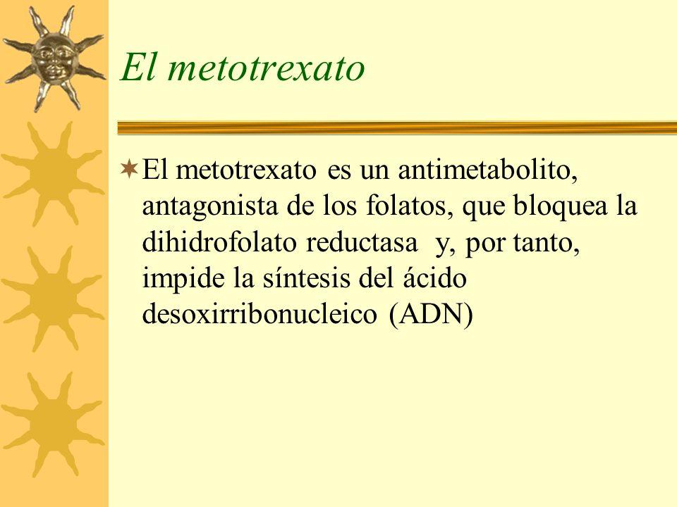 El metotrexato