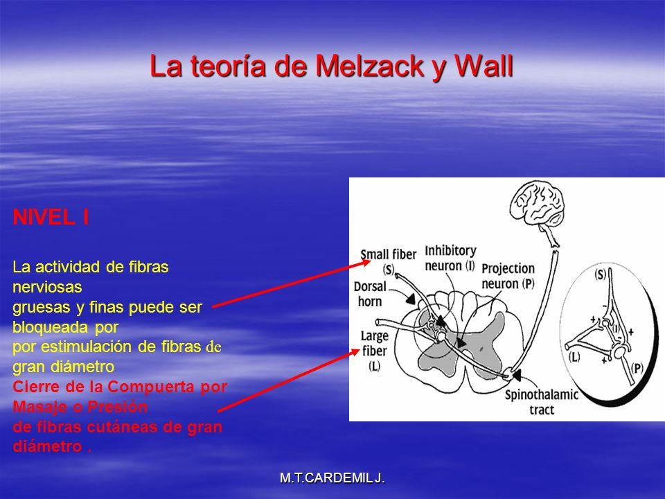 La teoría de Melzack y Wall