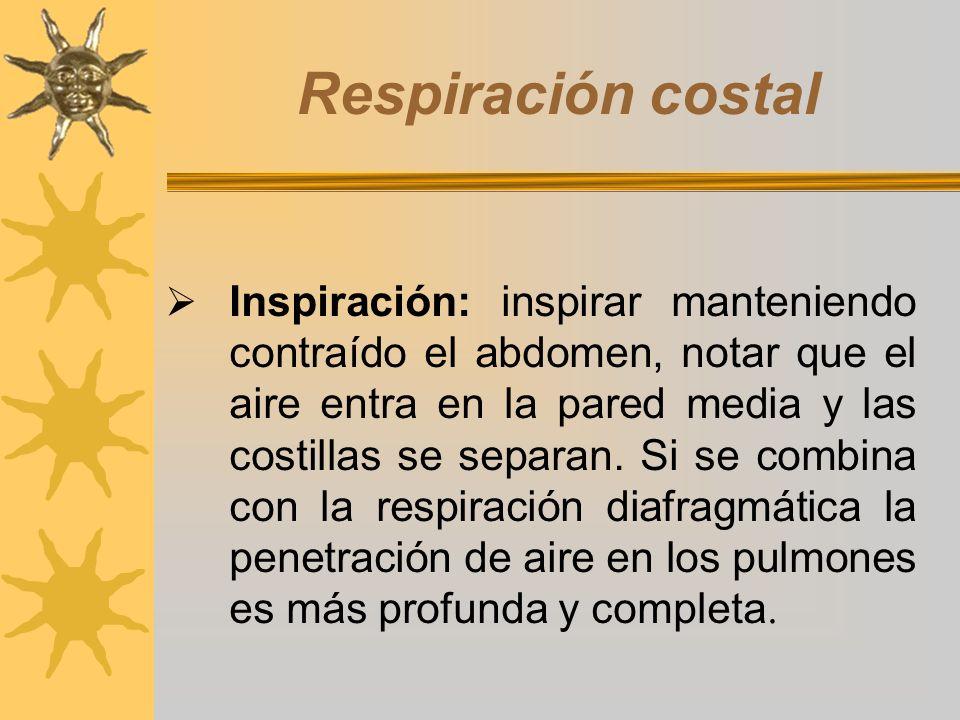 Respiración costal