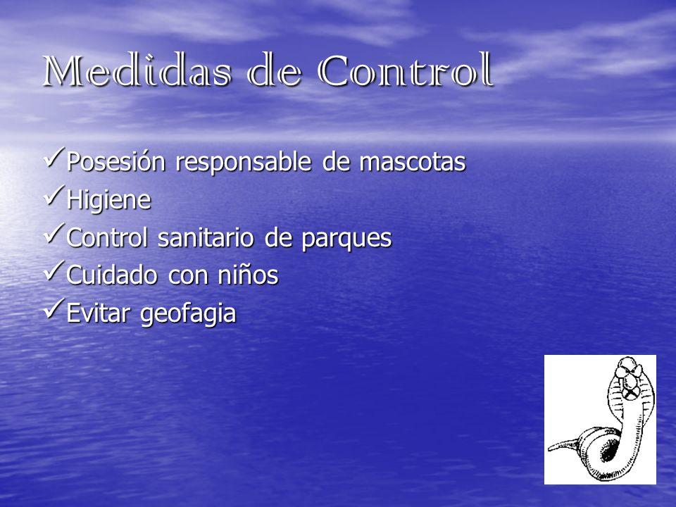 Medidas de Control Posesión responsable de mascotas Higiene