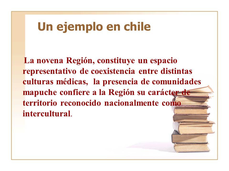 Un ejemplo en chile