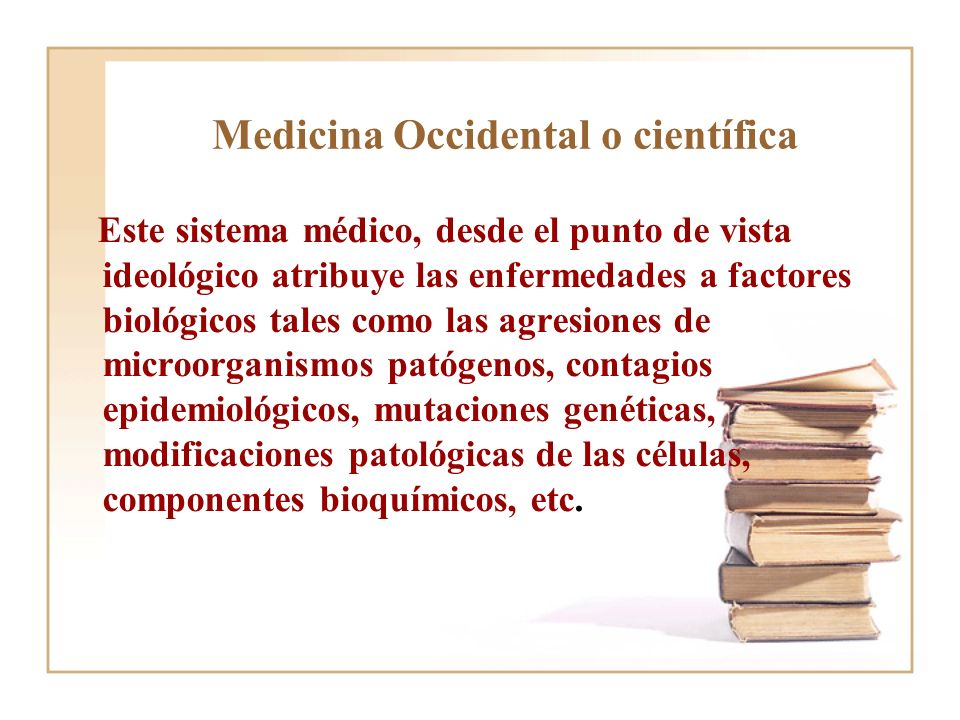 Medicina Occidental o científica
