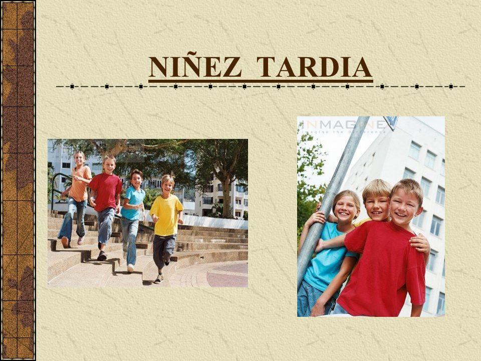 NIÑEZ TARDIA