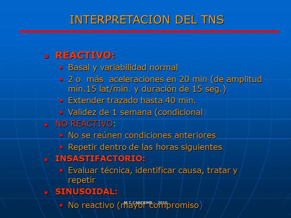 INTERPRETACION DEL TNS