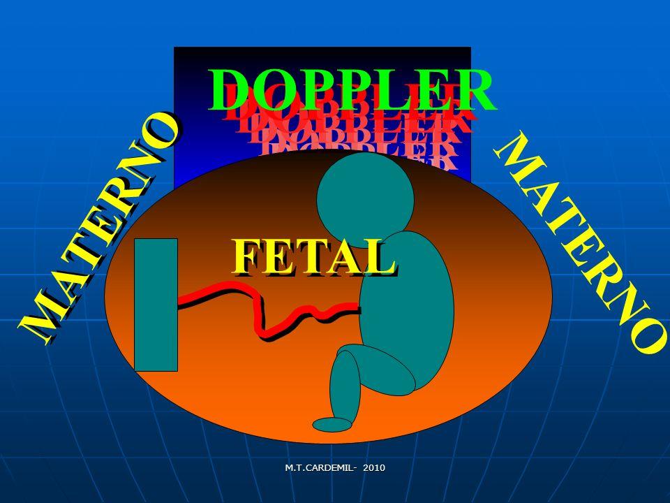 DOPPLER DOPPLER MATERNO MATERNO MATERNO FETAL FETAL DOPPLER DOPPLER