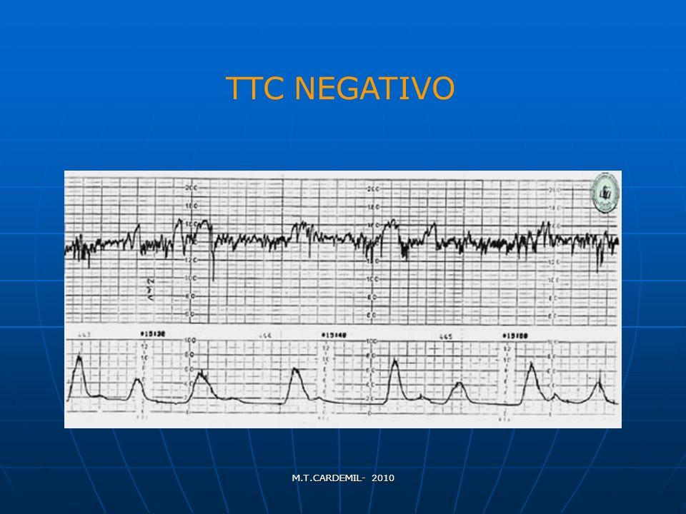 TTC NEGATIVO M.T.CARDEMIL- 2010