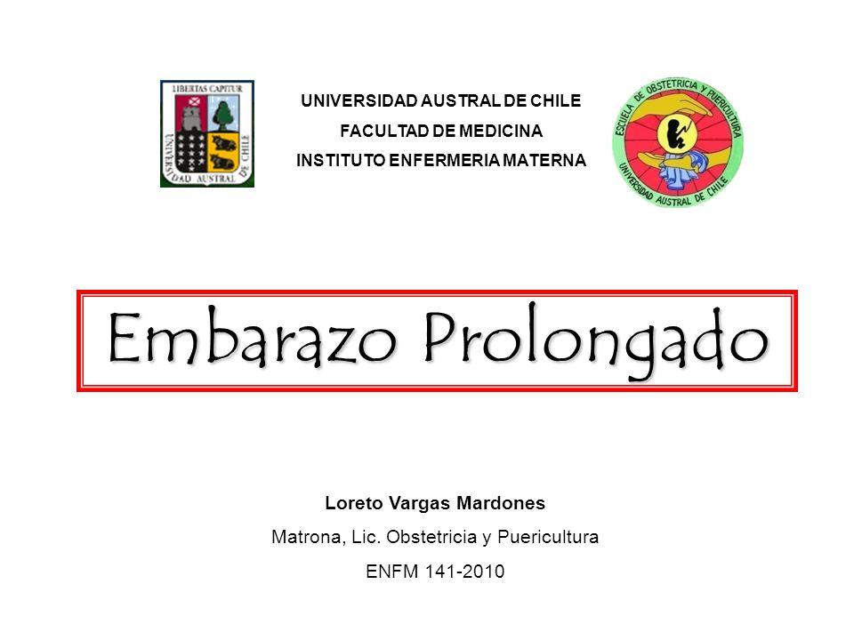 Embarazo Prolongado Loreto Vargas Mardones
