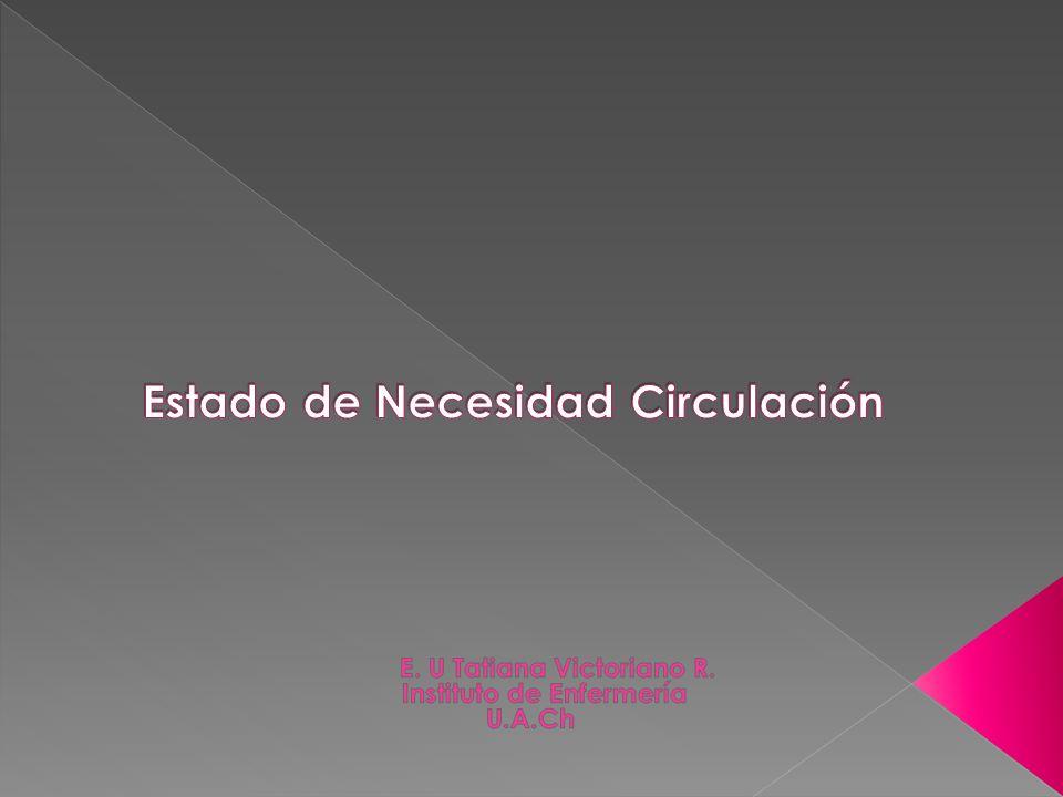 Estado de Necesidad Circulación