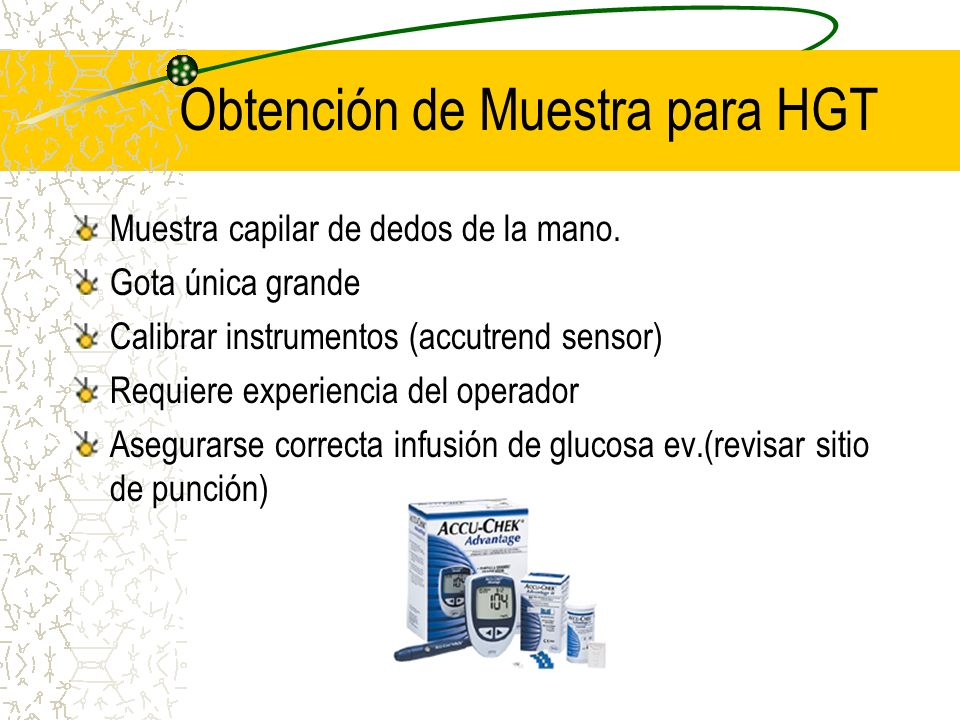 Obtención de Muestra para HGT