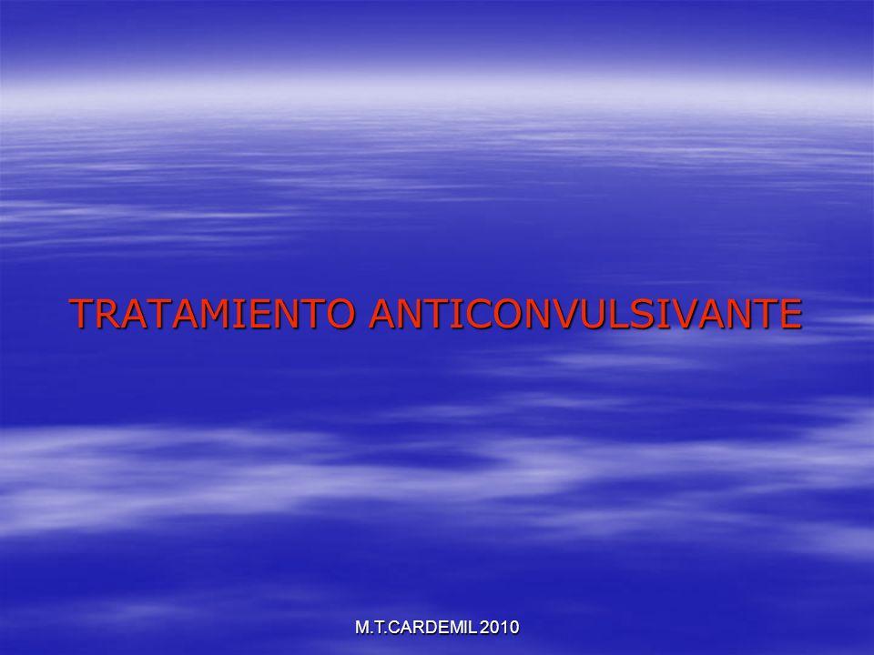TRATAMIENTO ANTICONVULSIVANTE