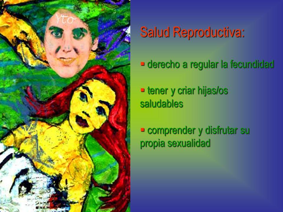 Salud Reproductiva: derecho a regular la fecundidad