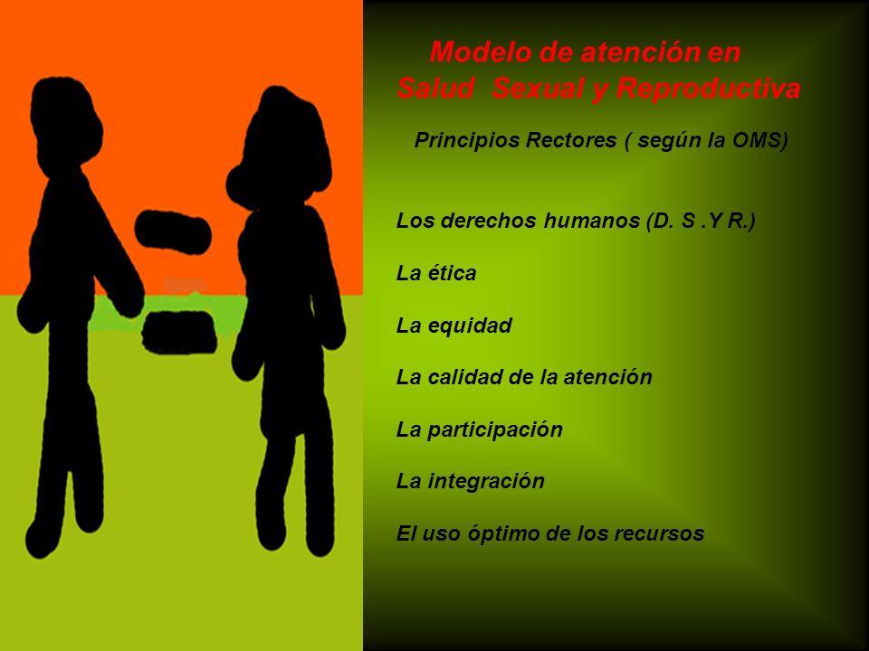 Modelo de atención en Salud Sexual y Reproductiva