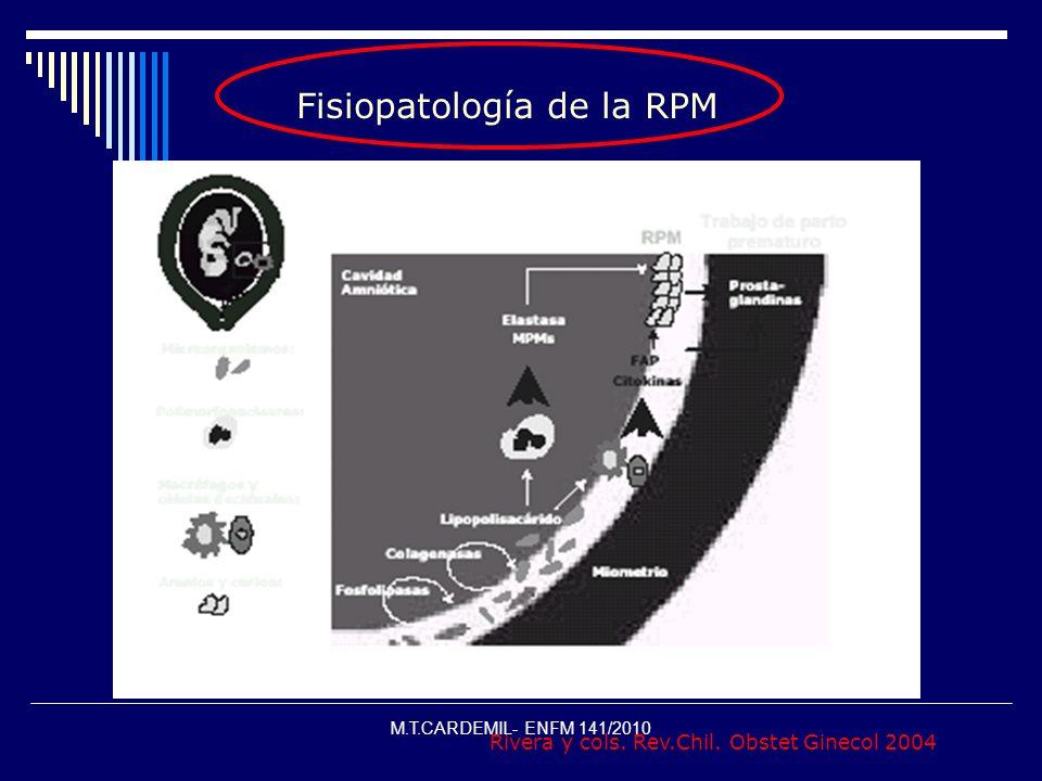 Fisiopatología de la RPM