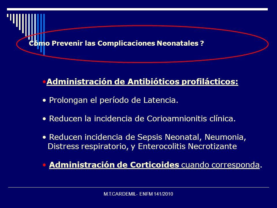 ¿ Cómo Prevenir las Complicaciones Neonatales